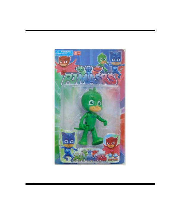 Figurina Eroi in Pijama Sopi cu sunet si lumini,15cm, verde