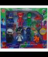 Set 6 figurine cu accesorii Eroi in Pijama