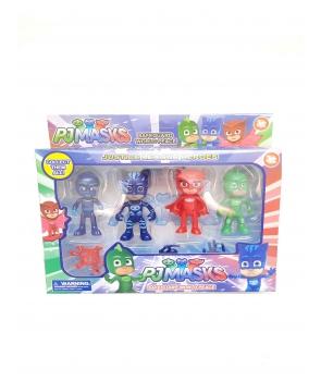 Set 4 figurine Eroi in Pijama