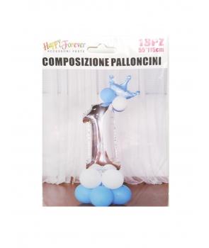 Aranjament baloane Prima aniversare-Prince