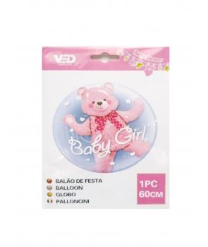 Balon dublu Baby Girl