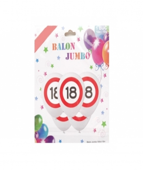 Balon latex Jumbo 18