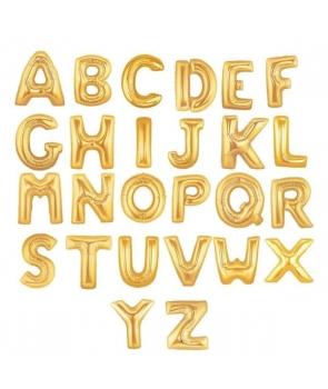 Baloane folie litere aurii 65cm