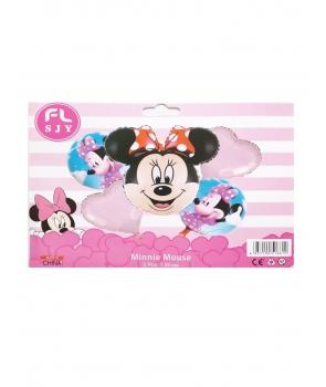 Set baloane petrecere folie Minnie