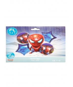 Set baloane petrecere folie Spiderman