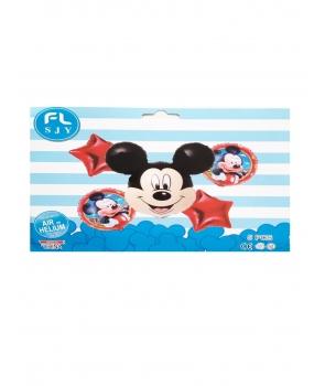 Set baloane folie petrecere Mickey