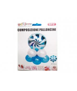Set baloane petrecere bomboana albastra