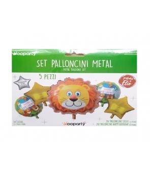 Set baloane folie Leu