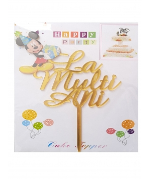 Decoratiune tort Micky-La multi ani