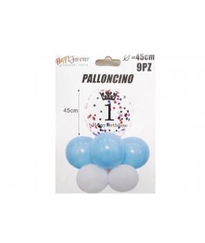 Set baloane petrecere latex Prima Aniversare