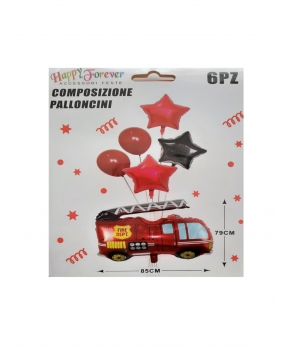 Set baloane petrecere Pompier