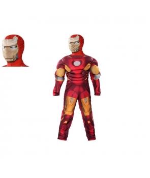 Costum carnaval Iron Man cu cagula