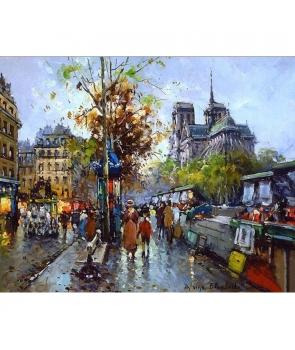 Set pictura pe numere Peisaj de oras