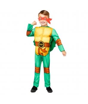 Costum carnaval baieti Testoasa Ninja de lux cu licenta