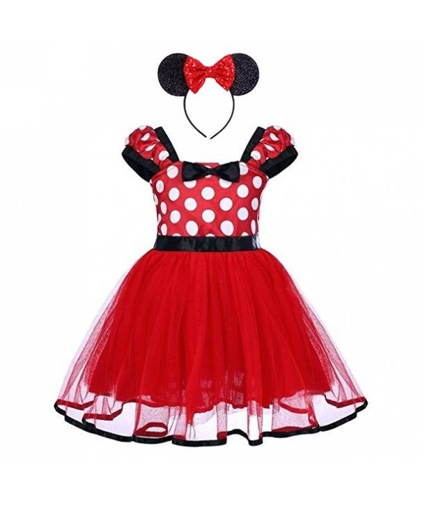 Costum fete Minnie cu bentita