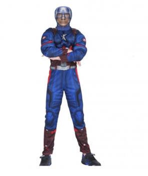 Costum copii Capitan America cu masca