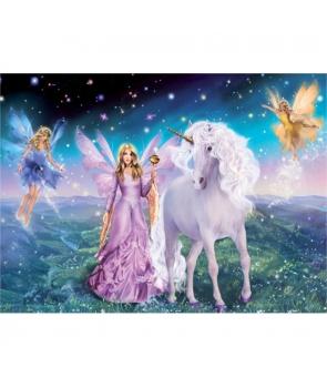 Set pictura pe numere Zane si unicorn, 40*50cm
