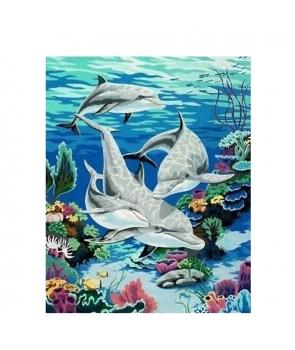 Set pictura pe numere Peisaj Marin, 40*50cm