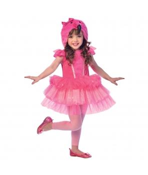 Costum carnaval fete Flamingo