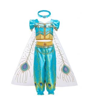 Costum carnaval fete Jasmine cu bentita