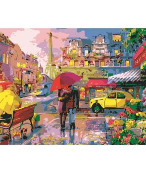 Set pictura pe numere Idila la Paris