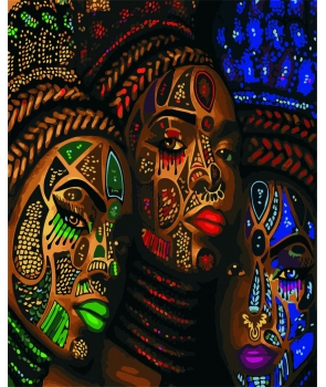 Set pictura pe numere Frumusetea Africii