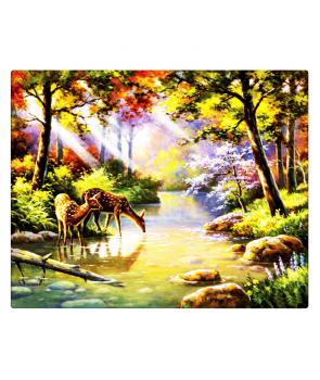 Set pictura pe numere Luminis cu animale