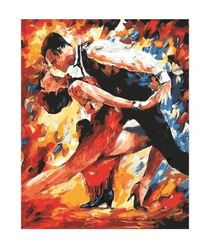 Set pictura pe numere Tango pasional