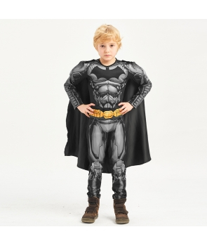 Costum carnaval baieti Batman cu holograma