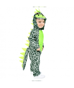 Costum carnaval copii Dinozaur albastru