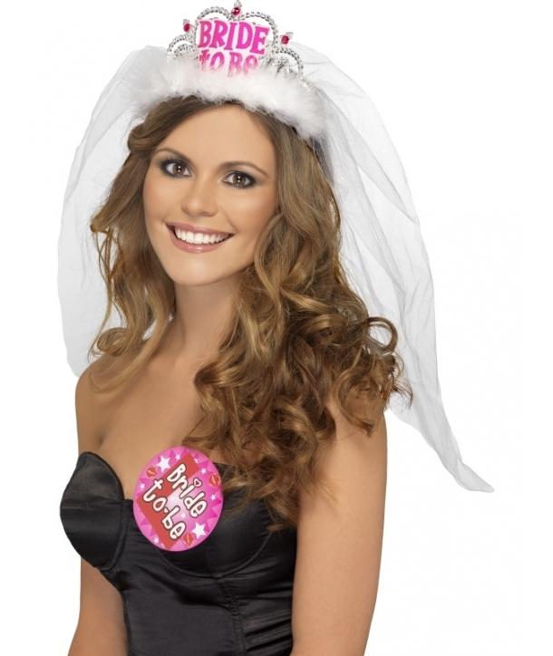 "Coronita burlacite ""Bride to Be"""