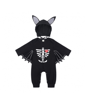 Costumatie Halloween copii Liliac cu aripi