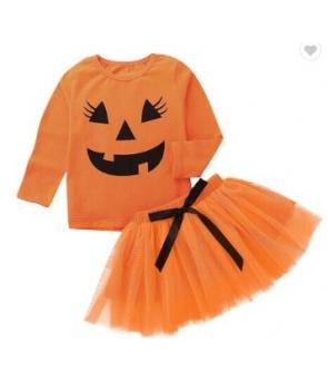 Costumatie Halloween fete Dovlecica cu fustita