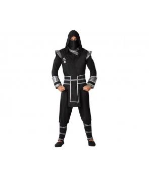 Costum carnaval barbati ninja cu muschi