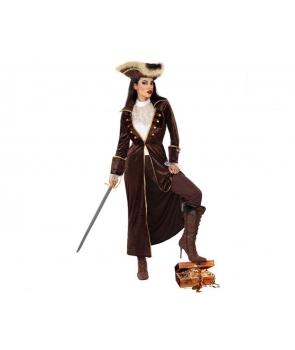 Costum femei pirata cu fusta Halloween