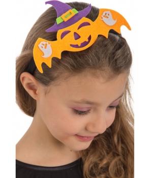 Bentita Halloween copii cu liliac
