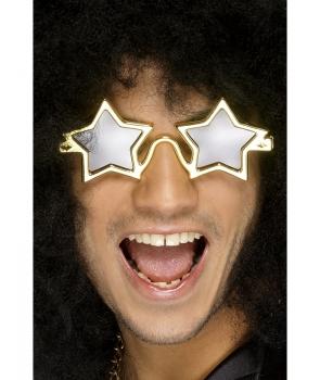 Ochelari superstar aurii