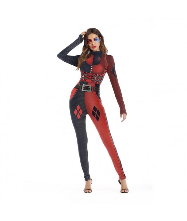Costum carnaval femei Harley Quinn 2