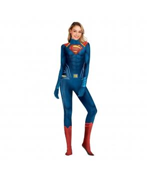 Costum carnaval femei Superwoman