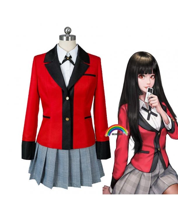 Costum Cosplay Lolita Anime Jabami Kakegurui