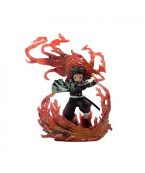 Figurina Demon Slayer Kamado Tanjirou Nezuko Anime,20cm