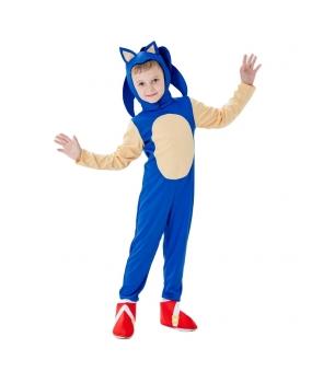 Costum carnaval copii Sonic Ariciul
