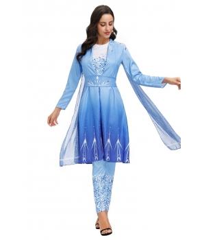 Costum petrecere femei Elsa Frozen 2