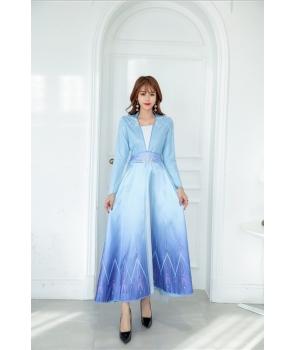 Costum carnaval femei Elsa Frozen 2