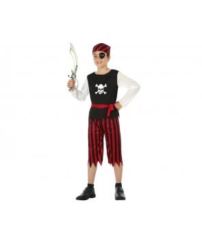 Costum carnaval baieti pirat tatuat