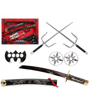 Set accesorii ninja