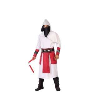 Costum carnaval barbati Ninja cu rosu