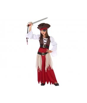 Costum carnaval femei pirata cu palarie