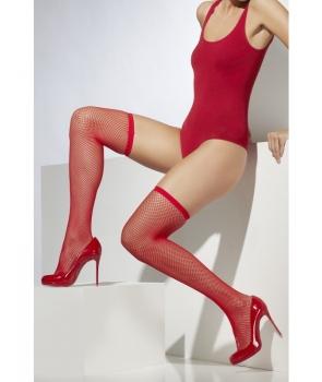 Ciorapi plasa rosie