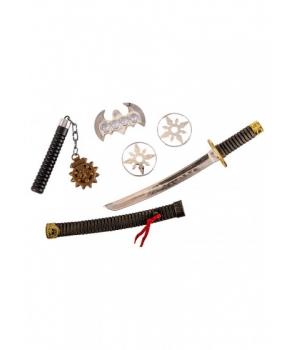 Set 4 accesorii ninja